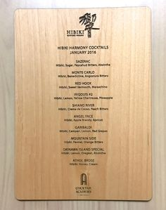 UCP specializes in creating high quality and great value custom promotional productions. Wood Menu, Menu Boards, Price Quote, Fort Collins, Real Wood, Rustic, Recipe, Decor, Staircases
