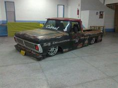 Ford f 100 slammed patina this shit rules!!!: Photo