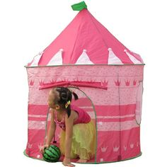 Princess Castle Play House Portable Tent Best Gift for Girl, Kids Playhouse 12 Year Old Christmas Gifts, Unique Christmas Gifts, Kids Christmas, Best Kids Toys, Toys For Boys, Games For Kids, Pink Castle, Princess Castle, Princess Party