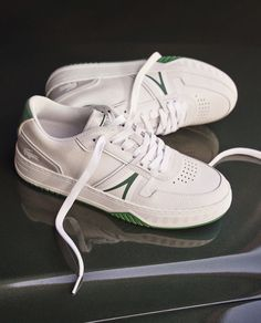 Lacoste L001 Dream Shoes, Casual Sneakers, Shoe Collection, Lacoste, Business, Fashion, Casual Trainers, Moda, Fashion Styles