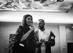 Fashion Blogger Café Berlin  Spotted: The lovely Alice M. Huynh  http://juliesdresscode.de