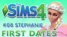 Los Sims 4 ¿Quedamos? #08 STEPHANIE  ♥FIRST DATES♥♥tesasims♥