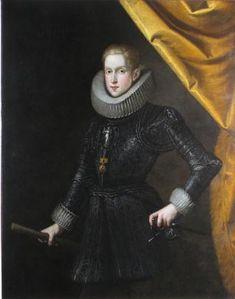 Retrato de Felipe IV. Rodrigo de Villandrando.