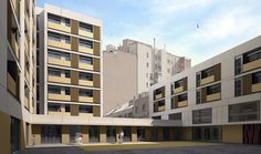 Gallery - 16 Rental Social Housing And Public Building For The Barcelona Municipal Housing / ONL Arquitectura - 16