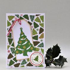 Vánoční stromek na visačce