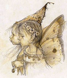 Jean-Baptiste Monge, a brownie and a fairy. Frownies could result.