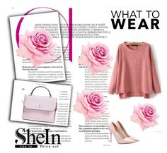 """SHEIN"" by lena-386 ❤ liked on Polyvore featuring Mode, Kate Spade und vintage"