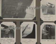 Album page, with 5 vintage photographs ( removable) of London Heathrow Airport dated 1949.  Showing Aviation  Pleasure flyer  De Havailand Rapide plane July 1949 .for sale on ebay 1byzantine Heathrow Airport, Vintage Photographs, Plane, Aviation, Aircraft, How To Remove, Album, London, Ebay