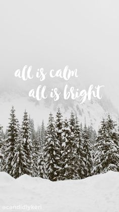 """all is calm all is bright"" background wallpaper you can download for free on the blog! For any device; mobile, desktop, iphone, android!"