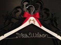 Disney Bridal Hanger Wedding Hanger Bride Hanger by GetHungUp, $35.00