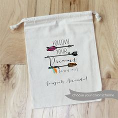 GRADUATION Follow Your Dreams  Personalized by foryourlittlemonkey