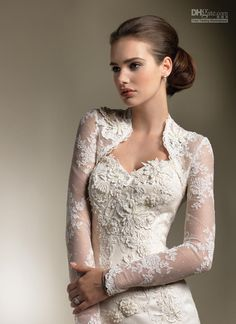 Wholesale A-Line Wedding Dresses - Buy 2013 Beautiful Three-dimensional Flower Lace Wedding Dresses Tulle Applique Bridal Gown+Free Jacket, ...