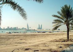 A beach in Muharraq