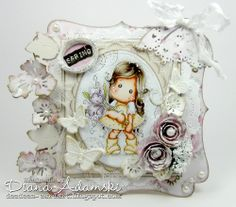 DeeDee's Magnolia Art - Tilda with Fantasy Flower from the Lost & Found Collection