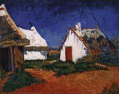 Van Gogh - Three White Houses at Saintes Maries 1888