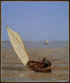 Thomas Eakins, Starting Out After Rail, 1874.
