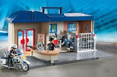 This Take Along Police Station is one of the new Playmobil sets for 2016 and is a fun toy for a young law enforcer enthusiast.