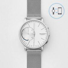 Hagen Connected Steel-Mesh Hybrid Smartwatch