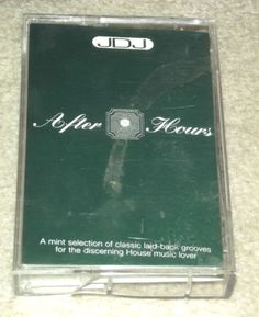 JDJ, After Hours 1995 rare rave dance tape - Rare by BunkysVintageCrafts on Etsy