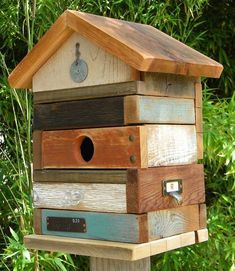 """*NEW* """"Pieces of Me"""" Birdhouse #birdhousetips"""