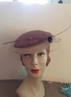 Vintage 1950s Hat Velvet Fabric BUMBLE BEE Decor Label Is Chapeaux by TimelessTreasuresVCB on Etsy