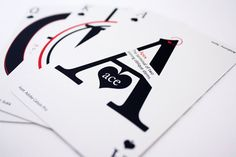 Graphos Your Type of Playing Cards by kiddocollective on Etsy