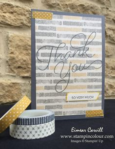 www.stampincolour.com Eimear Carvill Stampin' Creative Sneak Peek 2017 Urban Underground meets So Very Much #stampinup #thankyoucards #sab2017 #stampincreative