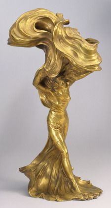 Loïe Fuller, The Dancer by Raoul François Larche