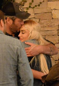 Recently divorced has never looked so good. Blake Shelton and Gwen Stefani looked adorably in love while waiting for their car at the valet after a dinner date at Casa Vega in Studio City, Calif. More pics at Usmagazine.com!