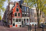Dutch Style Traditional Houses in Amsterdam