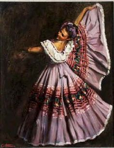 Folklórico skirt