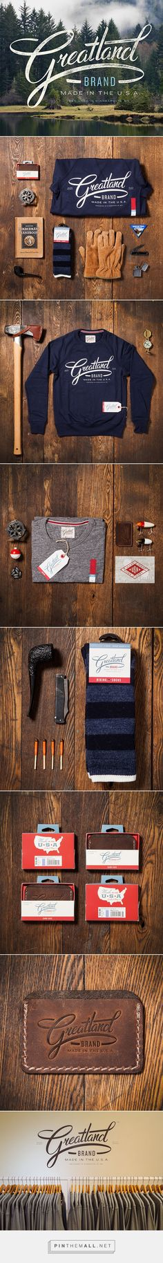 Greatland Branding on Behance