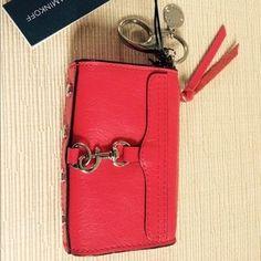 "I just added this to my closet on Poshmark: REBECCA MINKOFF Leather Red Mini MAC Key Charm Bag. Price: $49 Size: 4.5"" x 3"" x 1.5"""
