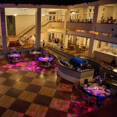 The open dance floor at Atlantic Dance Hall offers plenty of space for your guests to get their groove on #wedding