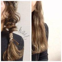 あの子の髪、なんだかおしゃれ!と周りから一目置かれるようなこなれヘアをマスターしてみませんか? プロが教える、ちょっと違うアレンジをまとめてご紹介します。 Hair Arrange, Hair Setting, Hair Dye Colors, Aesthetic Hair, Hair Looks, Hair Trends, Dyed Hair, Cool Hairstyles, Hair Beauty