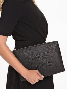 Tres Chic - Miss Selfridge - Svart - Väskor - Accessoarer - Kvinna - Nelly.com