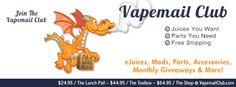 Vapemail club...why arent you getting it?!? Check them out and join now =D