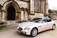 We can provide a choice of colour decor for the car to compliment the bride's bouquet, and a complimentary bottle of champagne is provided for the bride and groom. Champagne Bottles, Wedding Car, Isle Of Wight, Maserati, Colorful Decor, Newport, United Kingdom, Groom, Bouquet