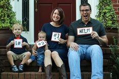 pregnancy announcement for baby #3- in case you and scott have a 3rd!  super hilarious and i clearly have a problem with this pinterest
