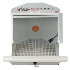 from Rio Grande: Lighted Grinding Box with Locking Catch Tray.  Made in the USA.