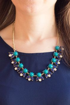 Love this necklace! Baubles Mikko Small Beaded Bib Necklace Stitch Fix