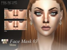 03: Smooth Shine  Found in TSR Category 'Sims 4 Female Skin Details'