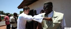 Orlando Bloom, UNICEF Ambassador, Shows Liberian Youth What They Can Do To Fight Ebola