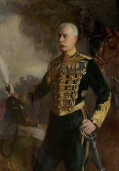 Colonel Whittaker, South Nottinghamshire Hussars Yeomanry