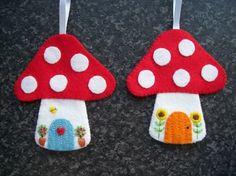 Felt craft gallery - Hippywitch crafts