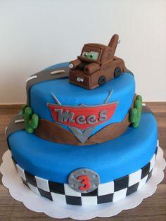 Takel taart / Cars cake