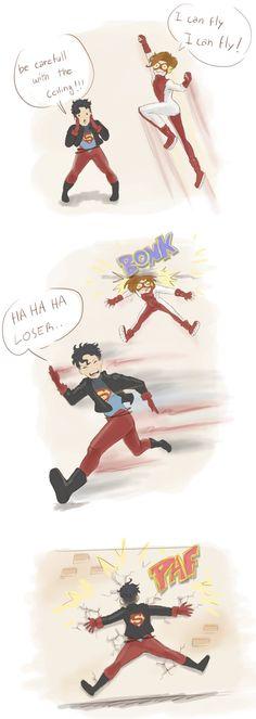impulse   robin   superboy