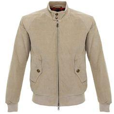 Baracuta G9 light padding corduroy Harrington jacket