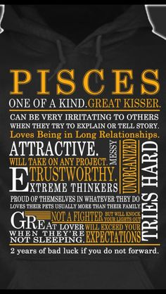 Hahaha ~ Irritating to others when trying to explain or tell a story - TRUTH. Pisces