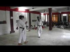 Shorin Ryu Seibukan Karate kumite training - http://karatehq.net/shorin-ryu-seibukan-karate-kumite-training/